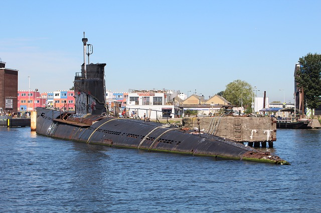Port, Asmterdam, U Boat, Submarine, Ship, Wreck, Tour