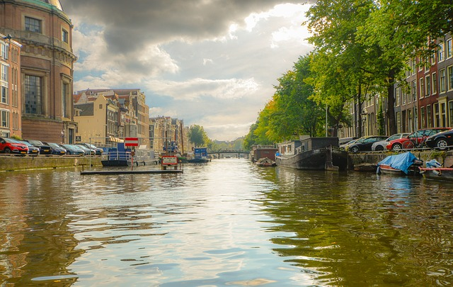 Amsterdam, Canal, Netherlands, Boat, Tourism, Travel