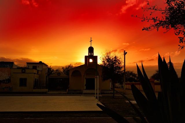 Sunset, Church, Culture, Sky, Tourism, Temple