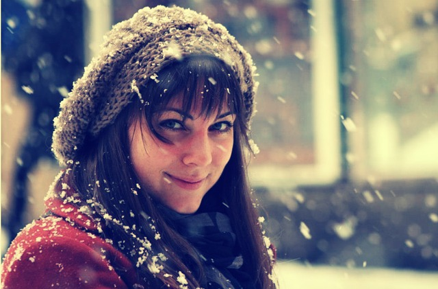 Girl, Snow, Bratislava, Tourism, City, Winter