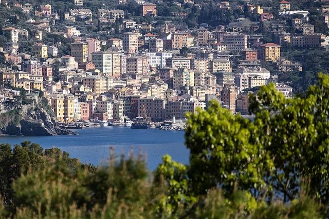 Camogli, Genoa, Liguria, Italy, City, Sea, Tourism
