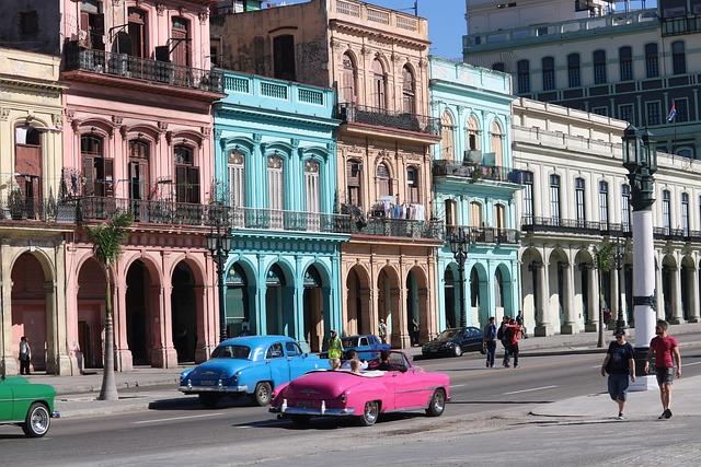 Architecture, Travel, City, Street, Tourism, Cuba