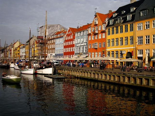 Copenhagen, Denmark, Landmark, Tourism, Danish