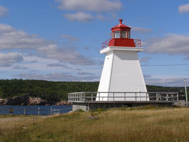 Nova, Scotia, Canada, Lighthouse, Ocean, Tourism