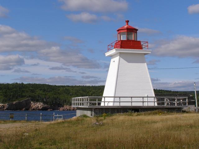 Nova, Scotia, Canada, Lighthouse, Ocean, Tourism