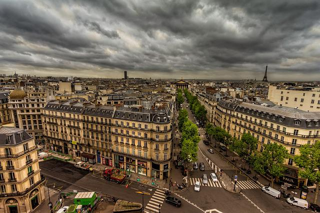 Paris, Perspective, Tourists