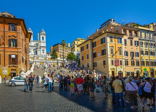 Rome, Spanish, Steps, Monument, City, Travel, Tourists