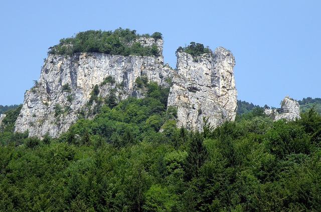 Allèves, Haute-savoie, France, Tours Saint Jacques