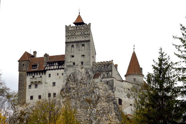 Fortress, Bran, Romania, Castle, Autumn, Palace, Tower