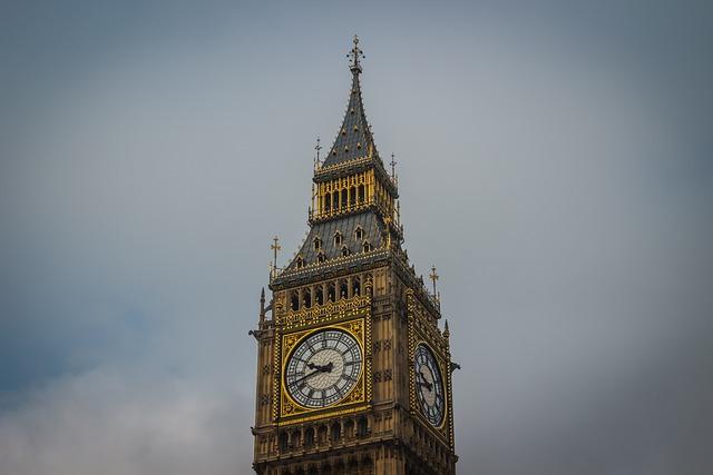 London, Tower, England, Big Ben