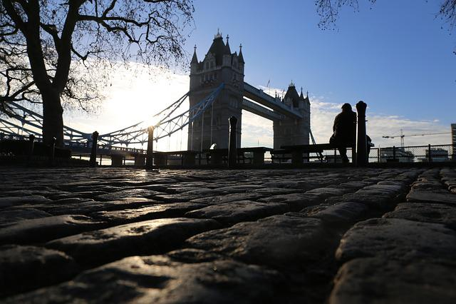 London, Tower Bridge, Places Of Interest, Morning, Sky