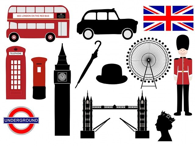 London, Icons, Symbols, Soldier, Queen, Tower Bridge
