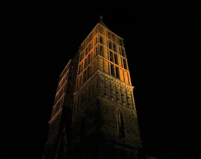 Church, Tower, Kassel, Martin Church, Steeple, Building
