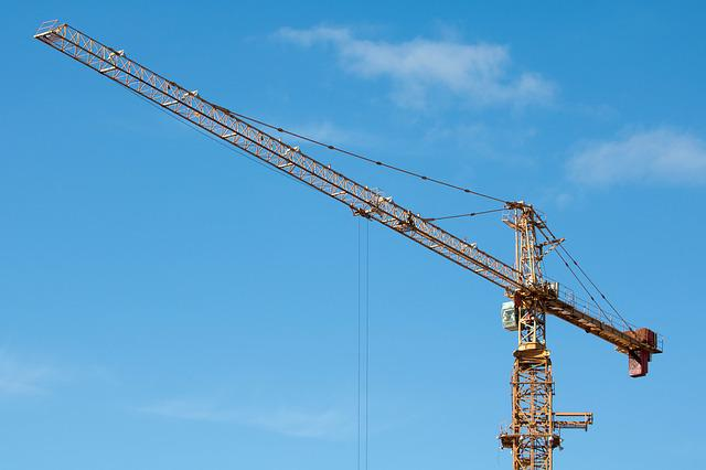 Industry, Tower Cranes, Sky, Equipment, Machine