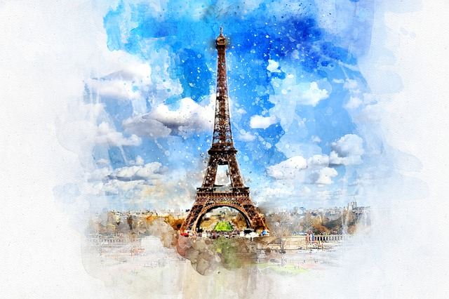 Paris, Eiffel, Tower, France, City, French, Europe