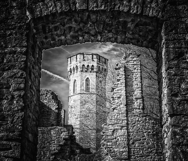 Castle, Tower, Middle Ages, Knight's Castle, Ruin