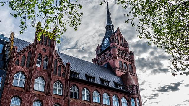 Architecture, Old, Building, Tower, City, Brick