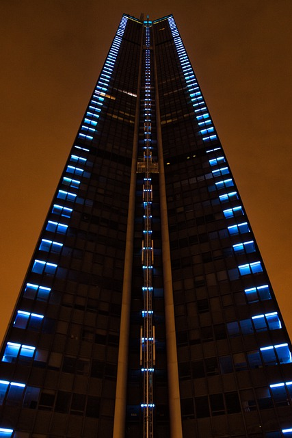Paris, Montparnasse, Tower, Hochaus, Night