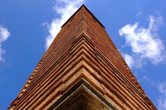 Italy, Alba, Piemonte, Piedmont, Dome, Church, Tower