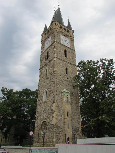 Tower, Sfantul, Stefan, Baia Mare, Transylvania, Center