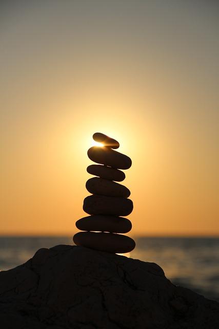 Balance, Stones, Stone Tower, Tower, Layered, Beach
