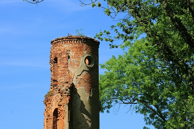 Tower, The Ruins Of The Palace, Monument, Architecture