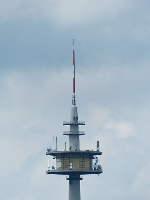 Radio Tower, Transmission Tower, Send Platform, Tower