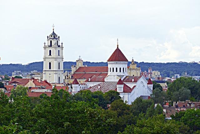City View, Old Town, Town Center, Downtown, Vilnius