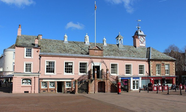 Carlisle, Town Hall, Town, Hall, City Centre, City