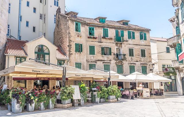 Split, Croatia, Architecture, Town, City, Europe