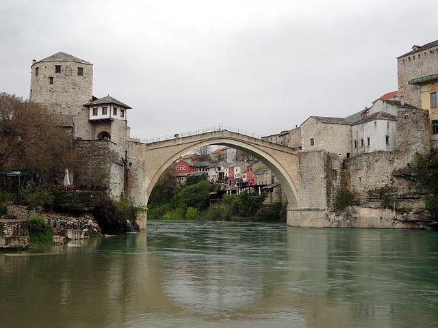 Bosnia, Stari, Europe, Herzegovina, Old, Balkan, Town