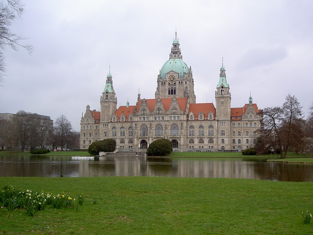 Hanover, Building, Town Hall, Home, Architecture