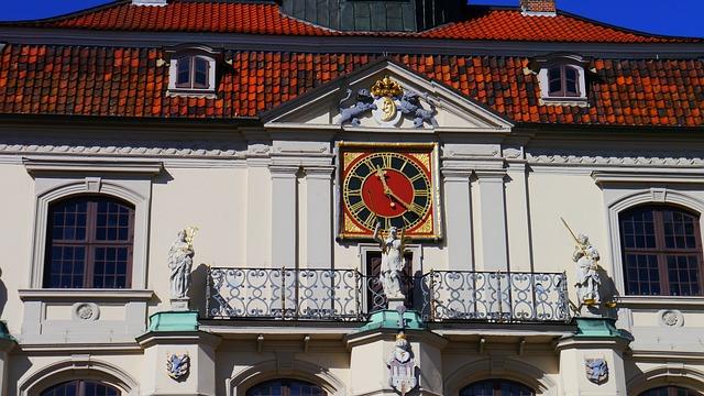 Lüneburg, Town Hall, Clock, Rathaus-watch, Germany