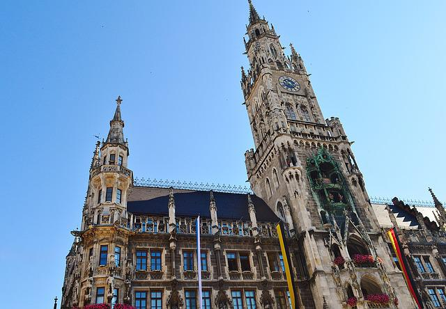 Town Hall, Clock Tower, Munich, Marienplatz