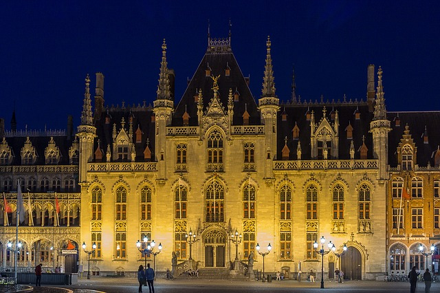 Bruges, Provinciaal Hof, Town Hall, Places Of Interest