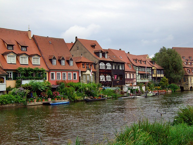 Town On The River, Water, Small Venice, Bamberg
