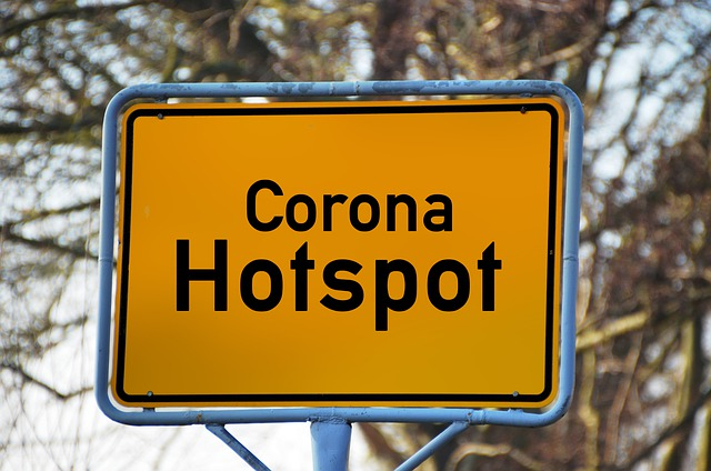 Corona, Covid-19, Virus, Town Sign, Place Name Sign