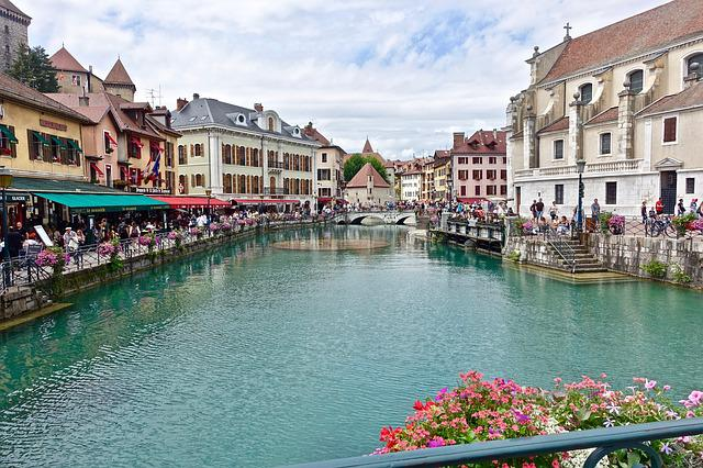 Canal, City, Tourism, Travel, Green, Town, River