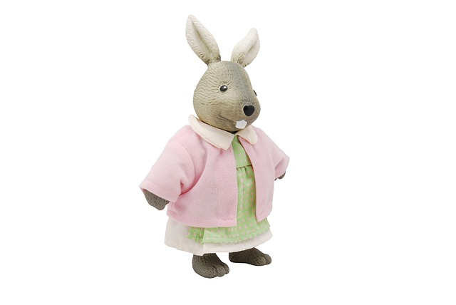 Toy, Rabbit, Animal, Cute, Isolated