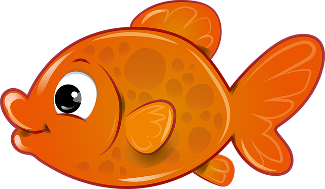 Fish, Goldfish, Orange, Vector, Svg, Toy, Pond, Drawing