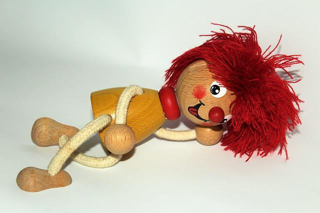 Pumuckl, Fig, Toys, Children, Cute, Holzfigur, Red Hair