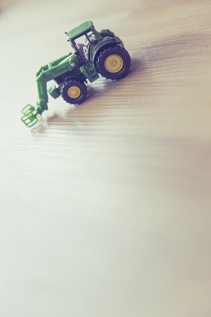Tractor, Play, Children's Room, Figure, Toys, Leisure