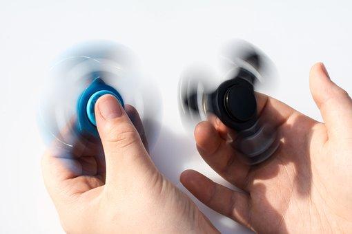 Fidget Spinner, Spinner, Two Fidget Spinner, Toys
