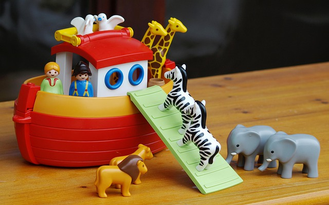 Archenoah, Ark, Toys, Playmobil, Fig, Play, Animals