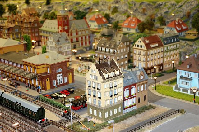 Model Train, Railway, Model Railway, Toys