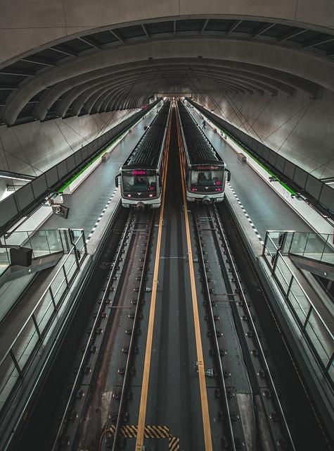 Metro, Train, Motol, Track, Wagon, Railway, City