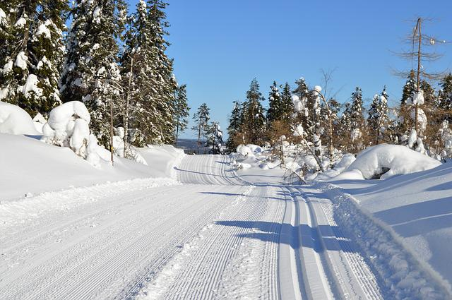 Snow, Winter, Track, Finnish, Skiing