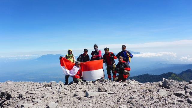 Summit, Tracking, Mountain, Indonesia, Mahameru, Track