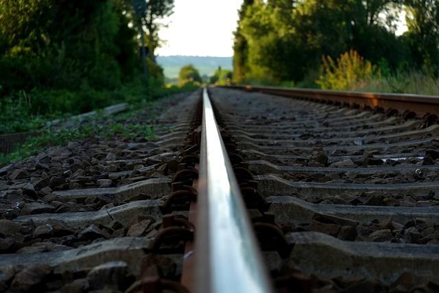 Rail, Railway, Railway Rails, Track, Train