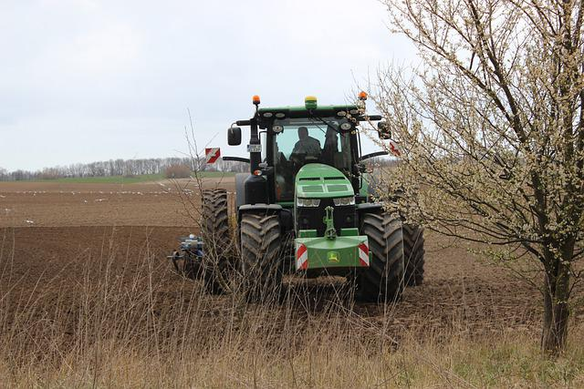 Agriculture, Spring, Tractor, San Nicolo D'ega, Field